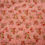As Time Goes By : Floral : Apricot : Exclusively Quilters : 100% Cotton : Fabrics