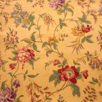 Garden Flowers : FLORAL : Brown : Concord Fabrics : 100% Cotton : FABRICS