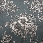 Rose Toile grey : WIDE BACKS  (Quilt Baking         Fabric) : Grey : Blank quilting corporation : 100% Cotton : FABRICS