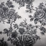 Rose Toile White : WIDE BACKS  (Quilt Baking         Fabric) : White : Blank quilting corporation : 100% Cotton : FABRICS