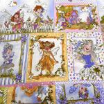 Very Fairy : NOVELTY PRINTS : Multi : Macs : 100% Cotton : FABRICS