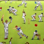 All  Rounders  Cricket : SPORTS : Multi : NUTEX : 100% Cotton : FABRICS