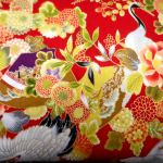 Sevenberry : ORIENTAL (Japanese, Asian etc) : Red : NUTEX : 100% Cotton : FABRICS