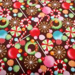 Christmas Sweets : CHRISTMAS : Multi : M and S Textiles  : 100% Cotton : FABRICS