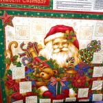 Advent Calendar : CHRISTMAS : Multi : NUTEX : 100% Cotton : FABRICS