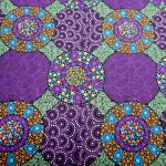 Wildflowers and Bush Tuckers Purple : AUSTRALIAN /  INDIGENOUS : Purple : M and S Textiles  : 100% Cotton : FABRICS
