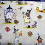 Spellcasters Garden : NOVELTY PRINTS : Cream : Maywood Studios : 100% Cotton : FABRICS