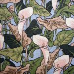 Art Nouveau Lilly : FLORAL : Multi : RJR : 100% Cotton : FABRICS
