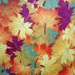 Autumn Leaves : FLORAL : Multi : Classic Cottons : 100% Cotton : FABRICS