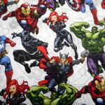 MARVEL  39330 : NOVELTY PRINTS : Multi : NUTEX : 100% Cotton : FABRICS